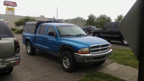 2000 Dodge Dakota for sale at Jeffreys Auto Resale, Inc in Roseville MI