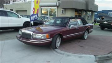 1993 Lincoln Town Car for sale at Jeffreys Auto Resale, Inc in Roseville MI
