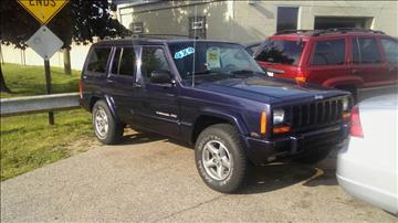1999 Jeep Cherokee for sale at Jeffreys Auto Resale, Inc in Roseville MI