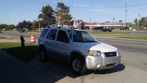 2006 Ford Escape Hybrid for sale at Jeffreys Auto Resale, Inc in Roseville MI