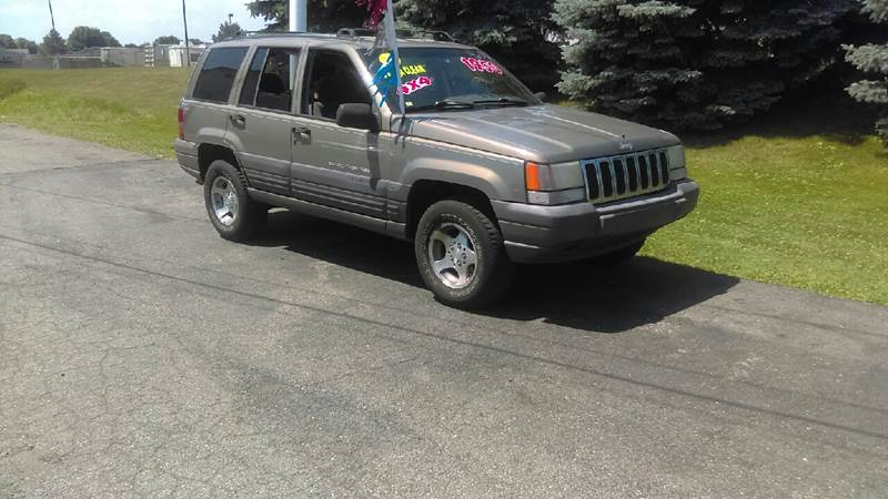1996 Jeep Grand Cherokee For Sale At Jeffreys Auto Resale, Inc In Clinton  Township MI