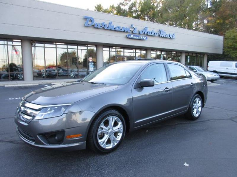2012 Ford Fusion For Sale >> 2012 Ford Fusion In Durham Nc Durham S Auto Mart