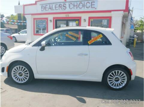 2018 FIAT 500 for sale at Dealers Choice Inc in Farmersville CA