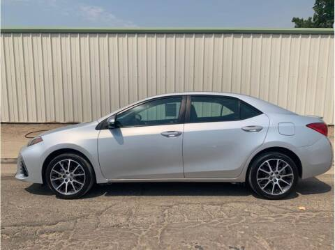 2017 Toyota Corolla for sale at Dealers Choice Inc in Farmersville CA
