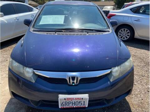 2011 Honda Civic for sale at Dealers Choice Inc in Farmersville CA