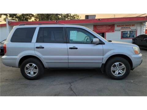 2003 Honda Pilot for sale at Dealers Choice Inc in Farmersville CA