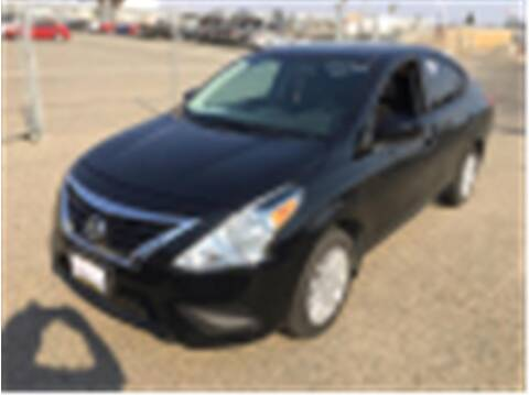 2019 Nissan Versa for sale at Dealers Choice Inc in Farmersville CA