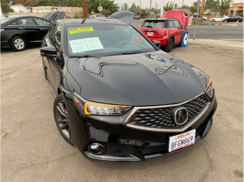 2019 Acura TLX for sale at Dealers Choice Inc in Farmersville CA