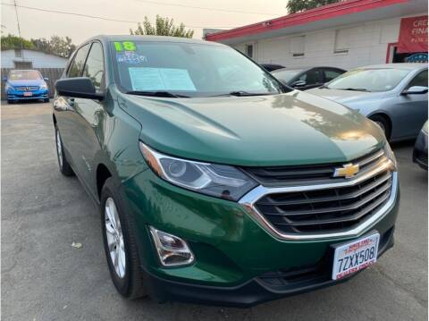 2018 Chevrolet Equinox for sale at Dealers Choice Inc in Farmersville CA