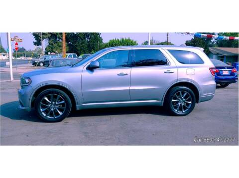 2014 Dodge Durango for sale at Dealers Choice Inc in Farmersville CA