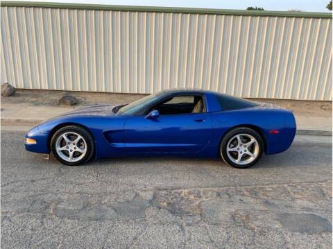2003 Chevrolet Corvette for sale at Dealers Choice Inc in Farmersville CA