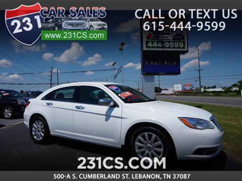 2014 Chrysler 200 for sale in Lebanon, TN