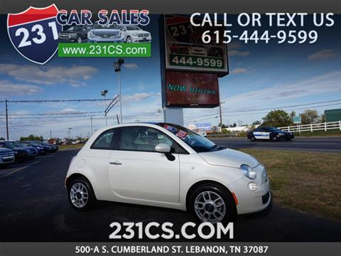 2014 FIAT 500 for sale in Lebanon, TN