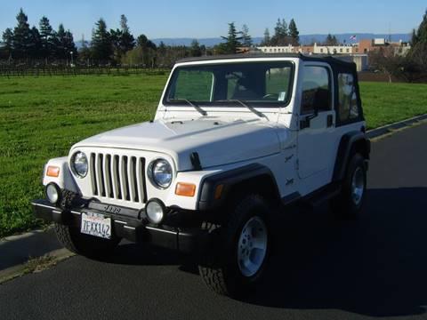 2002 Jeep Wrangler for sale in Hayward, CA