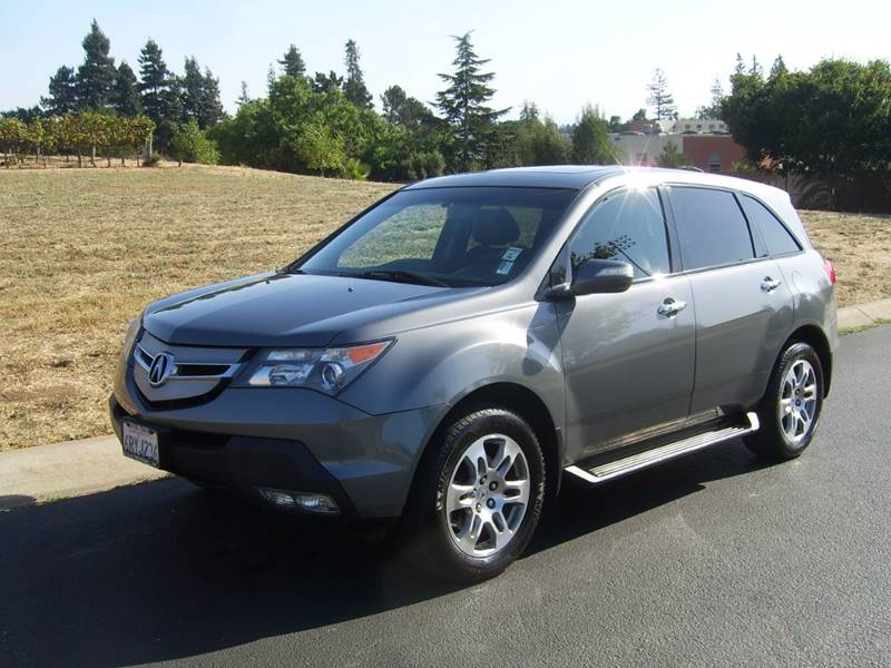 2009 Acura MDX Sh Awd W/tech 4dr Suv W/technology Package