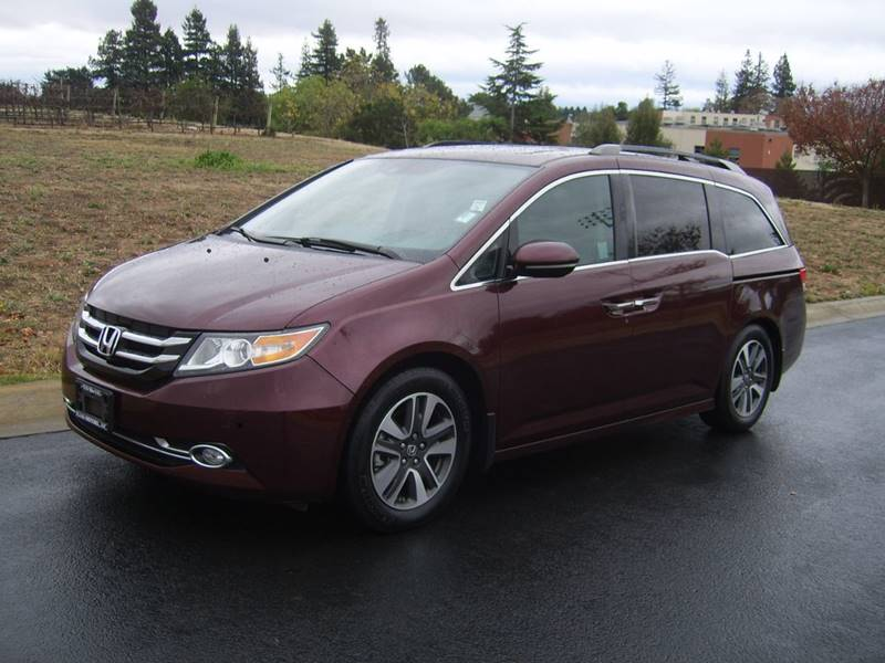 2014 Honda Odyssey Touring Elite 4dr Mini Van