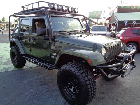 2008 Jeep Wrangler Unlimited for sale in Whittier, CA