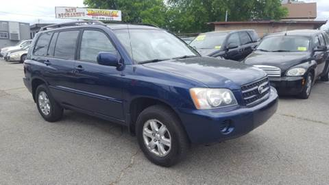2001 Toyota Highlander for sale in Lowell, MA