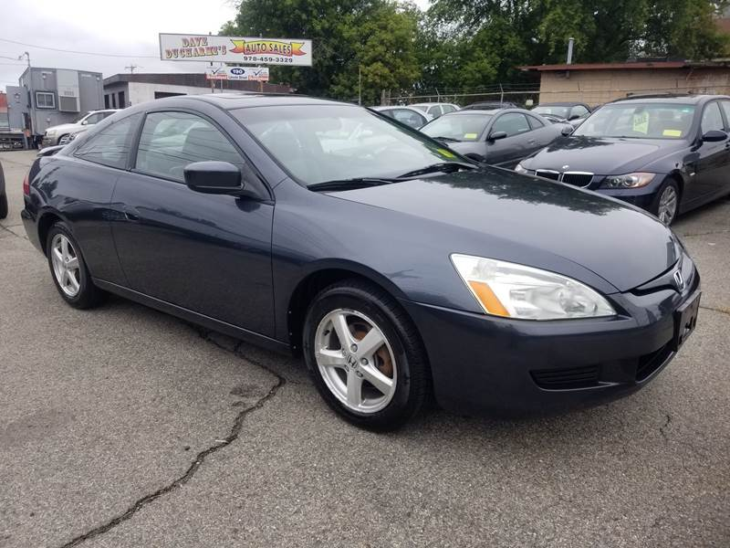 2003 Honda Accord EX 2dr Coupe W/Leather   Lowell MA