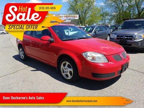 2007 Pontiac G5 for sale in Lowell, MA