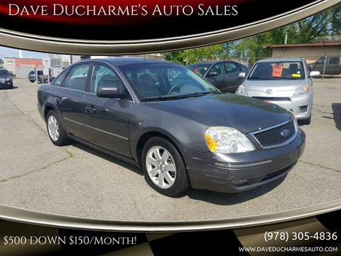 2006 Ford Five Hundred for sale in Lowell, MA