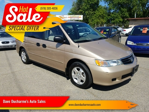 2002 Honda Odyssey for sale in Lowell, MA