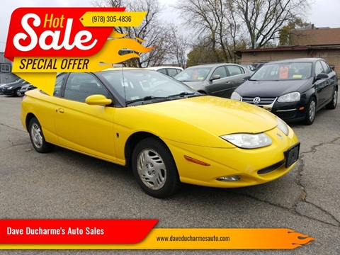 2001 Saturn S-Series for sale in Lowell, MA