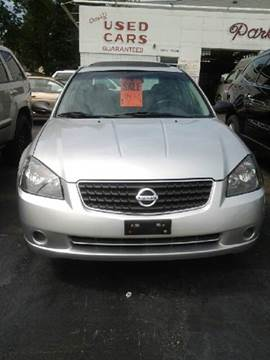 2006 Nissan Altima for sale at Parkside Auto in Niagara Falls NY