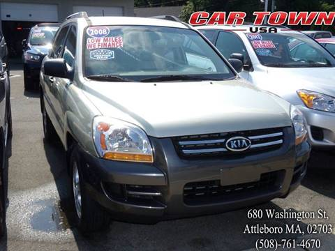 2008 Kia Sportage for sale at Car Town USA in Attleboro MA