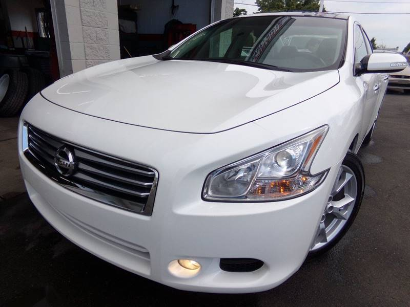 2012 Nissan Maxima for sale at Car Town USA in Attleboro MA