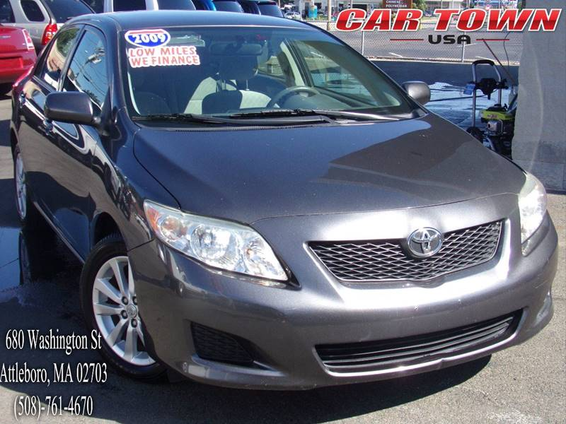 2009 Toyota Corolla for sale at Car Town USA in Attleboro MA