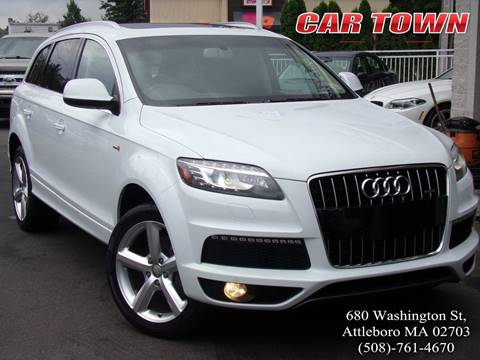 2013 Audi Q7 for sale at Car Town USA in Attleboro MA