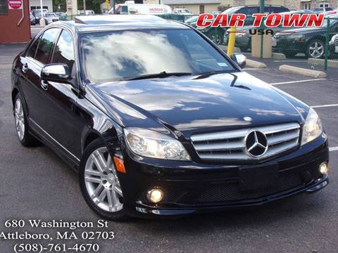 2009 Mercedes-Benz C-Class for sale at Car Town USA in Attleboro MA