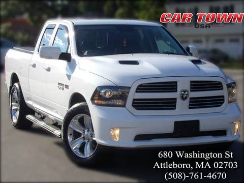 2014 RAM Ram Pickup 1500 for sale at Car Town USA in Attleboro MA