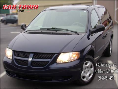 2003 Dodge Grand Caravan for sale at Car Town USA in Attleboro MA