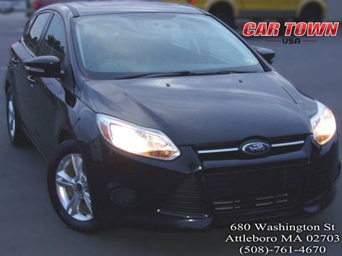 2014 Ford Focus for sale at Car Town USA in Attleboro MA