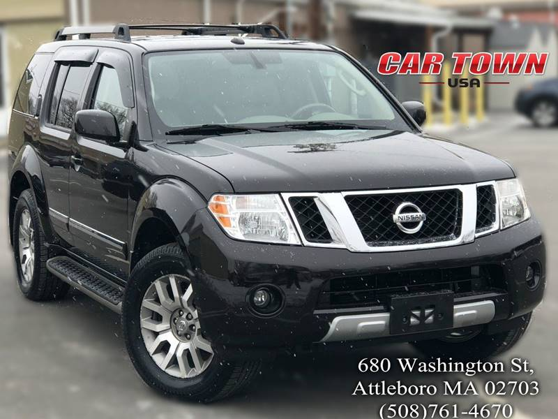 2012 Nissan Pathfinder For Sale >> 2012 Nissan Pathfinder Le In Attleboro Ma Car Town Usa