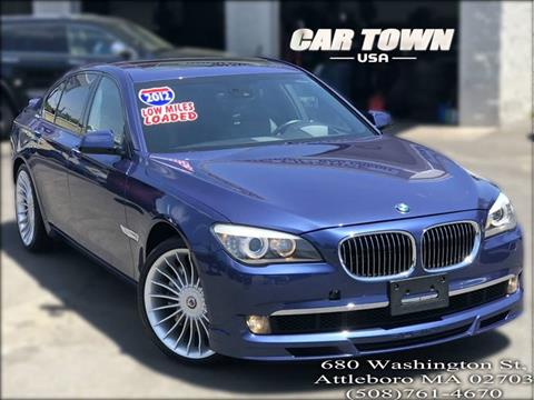 2012 BMW 7 Series for sale at Car Town USA in Attleboro MA