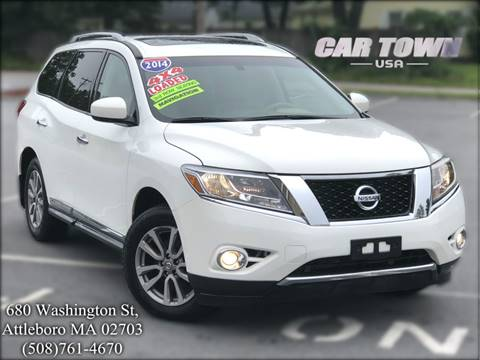 2014 Nissan Pathfinder for sale at Car Town USA in Attleboro MA