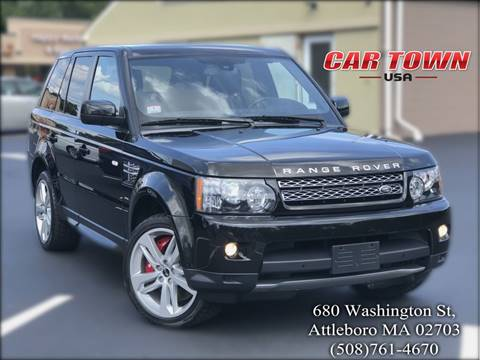 2013 Land Rover Range Rover Sport for sale at Car Town USA in Attleboro MA