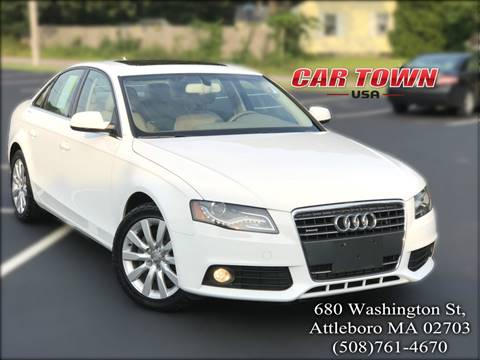 2011 Audi A4 for sale at Car Town USA in Attleboro MA