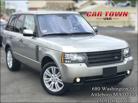 2011 Land Rover Range Rover for sale at Car Town USA in Attleboro MA