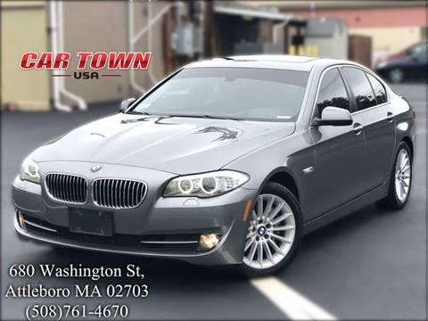 2013 BMW 5 Series for sale at Car Town USA in Attleboro MA