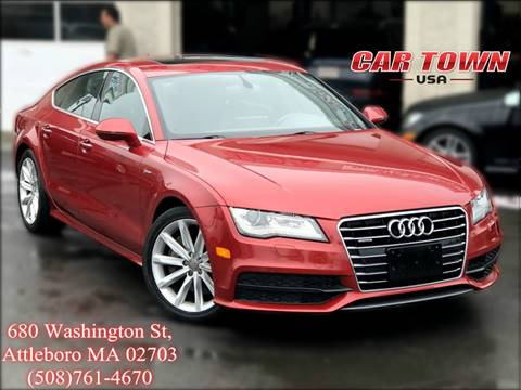 2013 Audi A7 for sale at Car Town USA in Attleboro MA