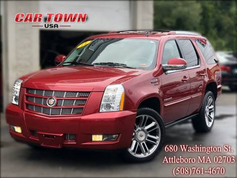 2014 Cadillac Escalade for sale at Car Town USA in Attleboro MA