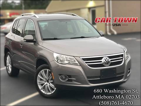 2011 Volkswagen Tiguan for sale at Car Town USA in Attleboro MA