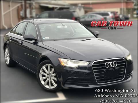 2013 Audi A6 for sale at Car Town USA in Attleboro MA