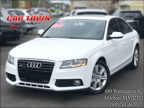 2010 Audi A4 for sale at Car Town USA in Attleboro MA