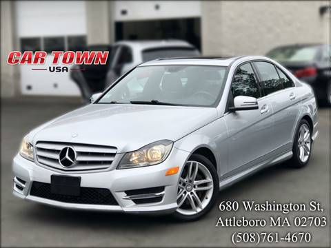 2013 Mercedes-Benz C-Class for sale at Car Town USA in Attleboro MA