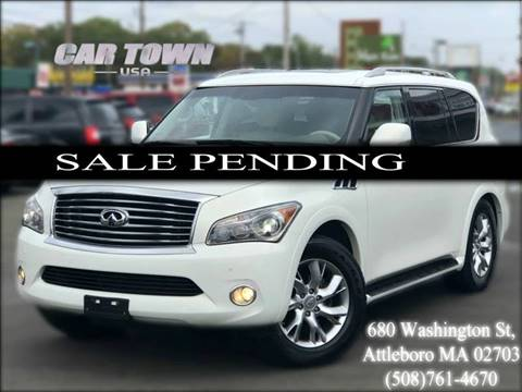 2011 Infiniti QX56 for sale at Car Town USA in Attleboro MA